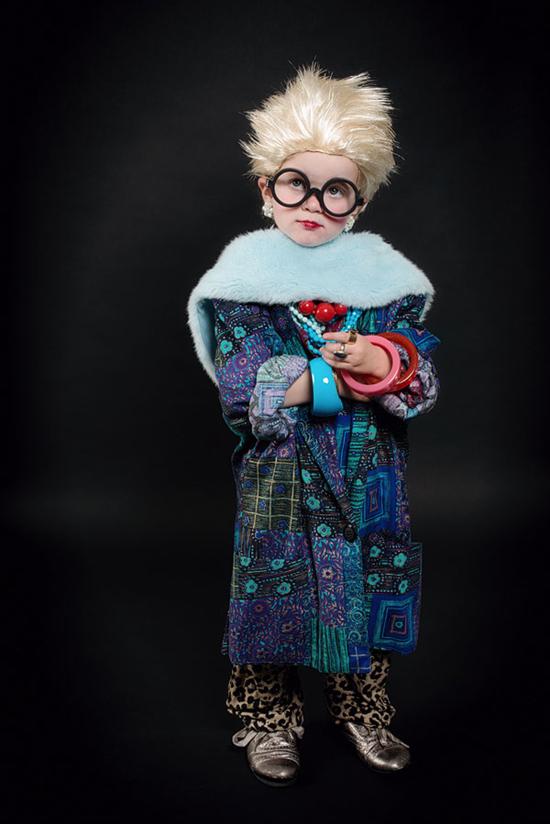 Iris Apfel Costume