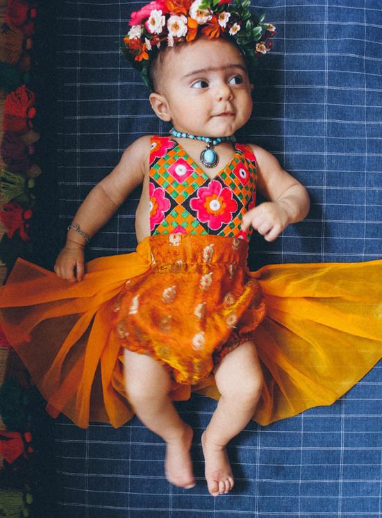 Baby Frida Kahlo