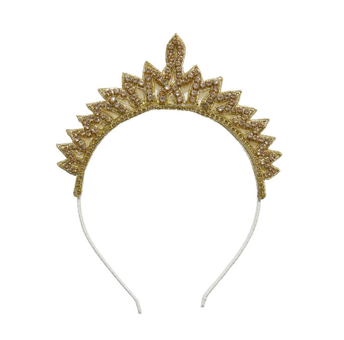 Gold Tiara headband by Tutu du Monde