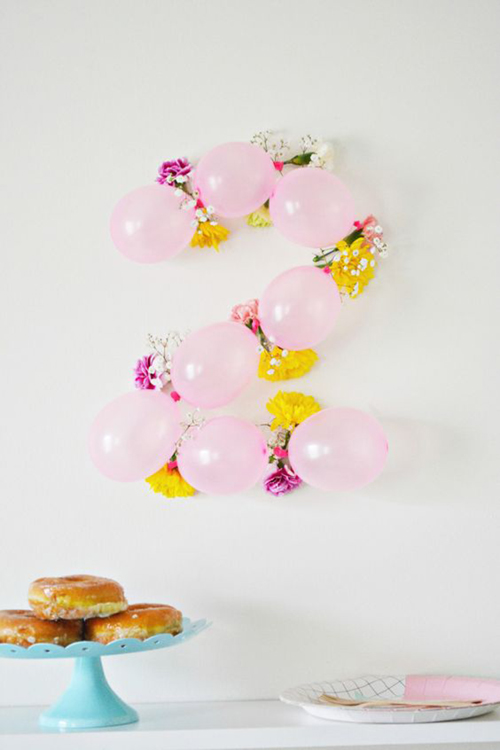 Balloon and Flower Numbers