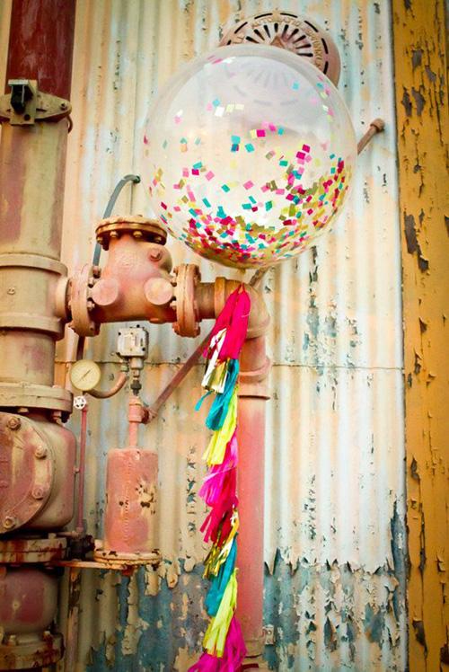 Confetti Tassel Giant Baloon