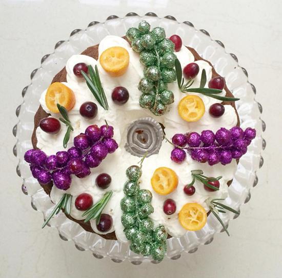 Lily Vanilli Doughnut Cake