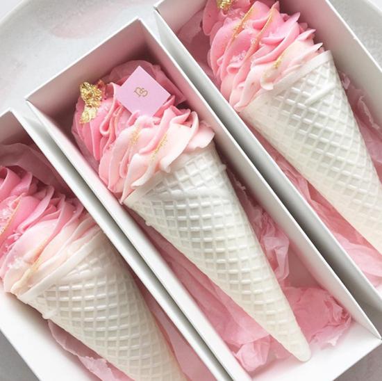 Nectar and Stone Ice Cream Meringue