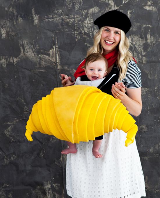 Croissant Baby Costume