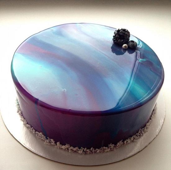 Reflective Galaxy Cake