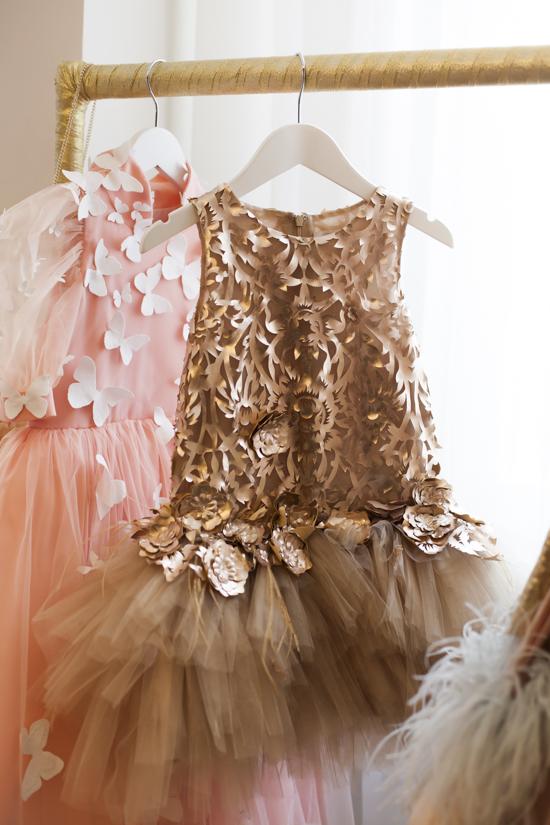 CHILDREN SALON TULLE DRESS