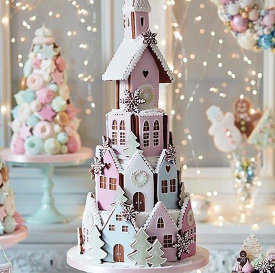 Peggy Porschen Gingerbread House