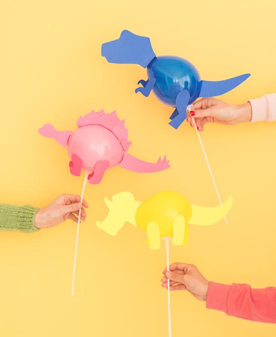 Mini Dino Balloons