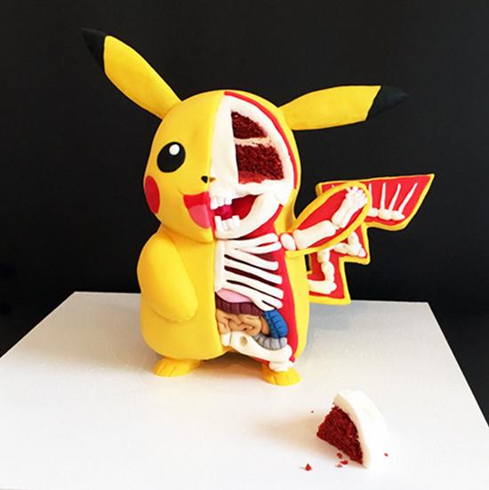 Tattooed Bakers Pikachu