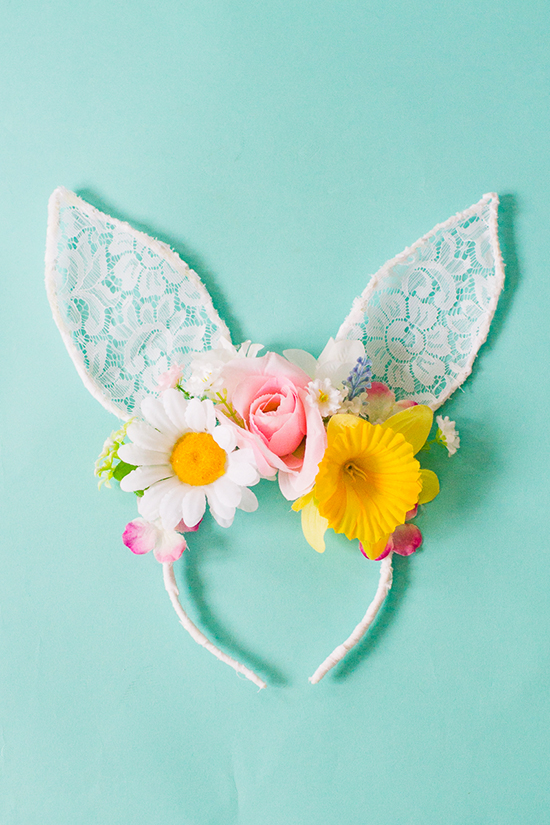DIY-bunny-ears-floral-flower-crown-easter-spring-tutorial-with-faux-flowers-and-lace-flower-girl-accessories-headband-4
