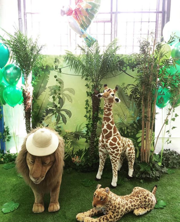 Wild animal themed party